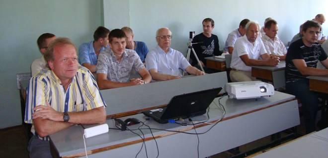 Ляшевський С. Е. на конференції кафедри АЕМС-ЕП