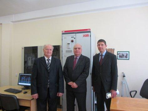 Науково-технічний центр АББ в КПІ відкрито! Пересада Печеник