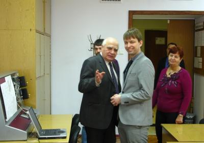 Візит Штефана Паліса на кафедру в 2015 році