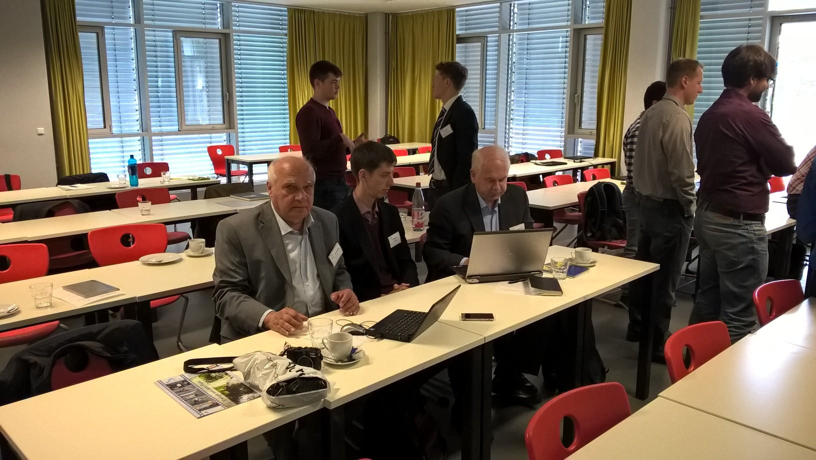 Семінар у Фрідбергу за участю кафедри 2016 АЕМС-ЕП