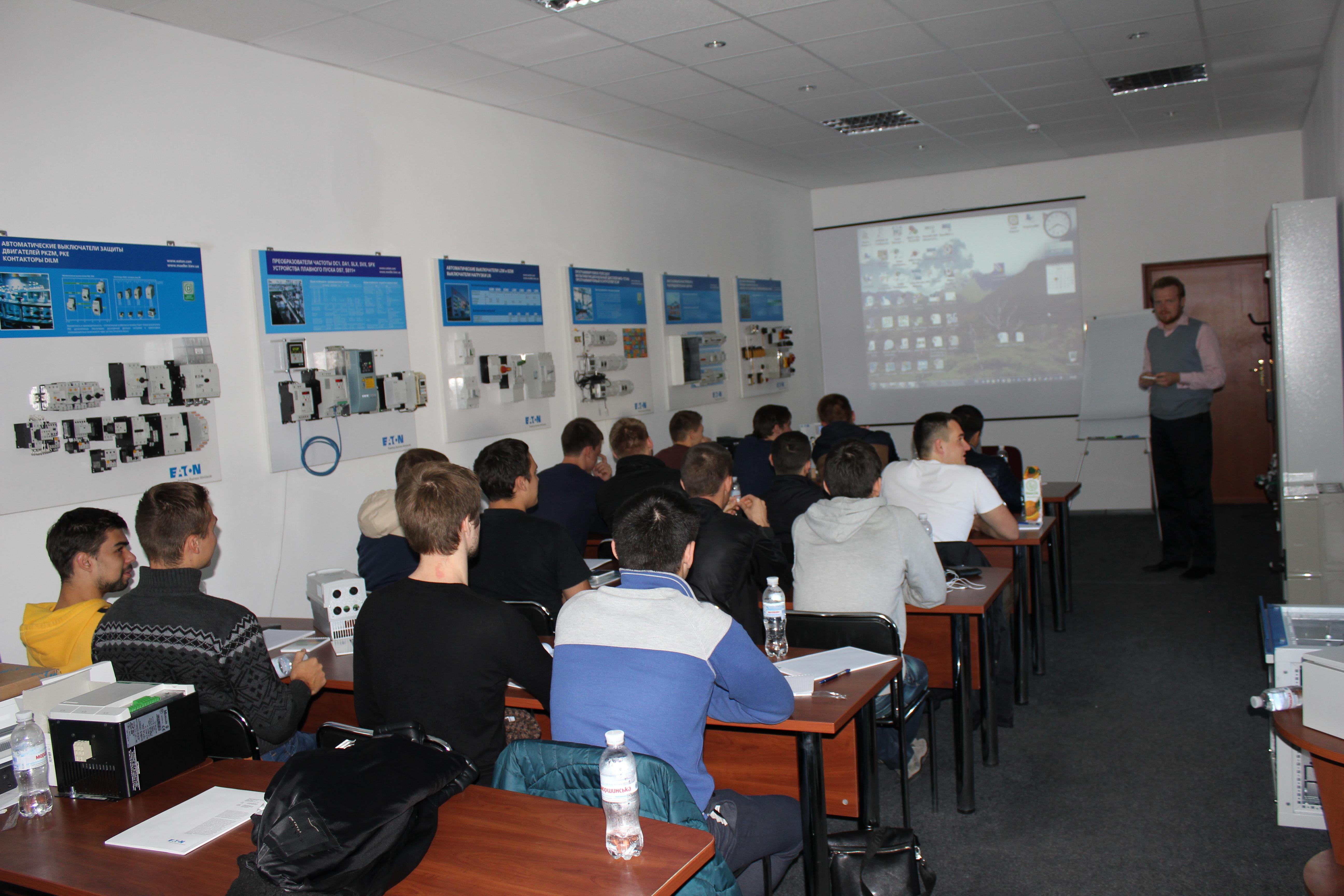 Тренінг в компанії EATON студентів кафедри АЕМС-ЕП