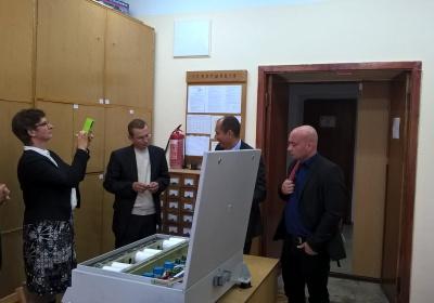 Делегація з Університету м. Гессен відвідала кафедру АЕМС-ЕП
