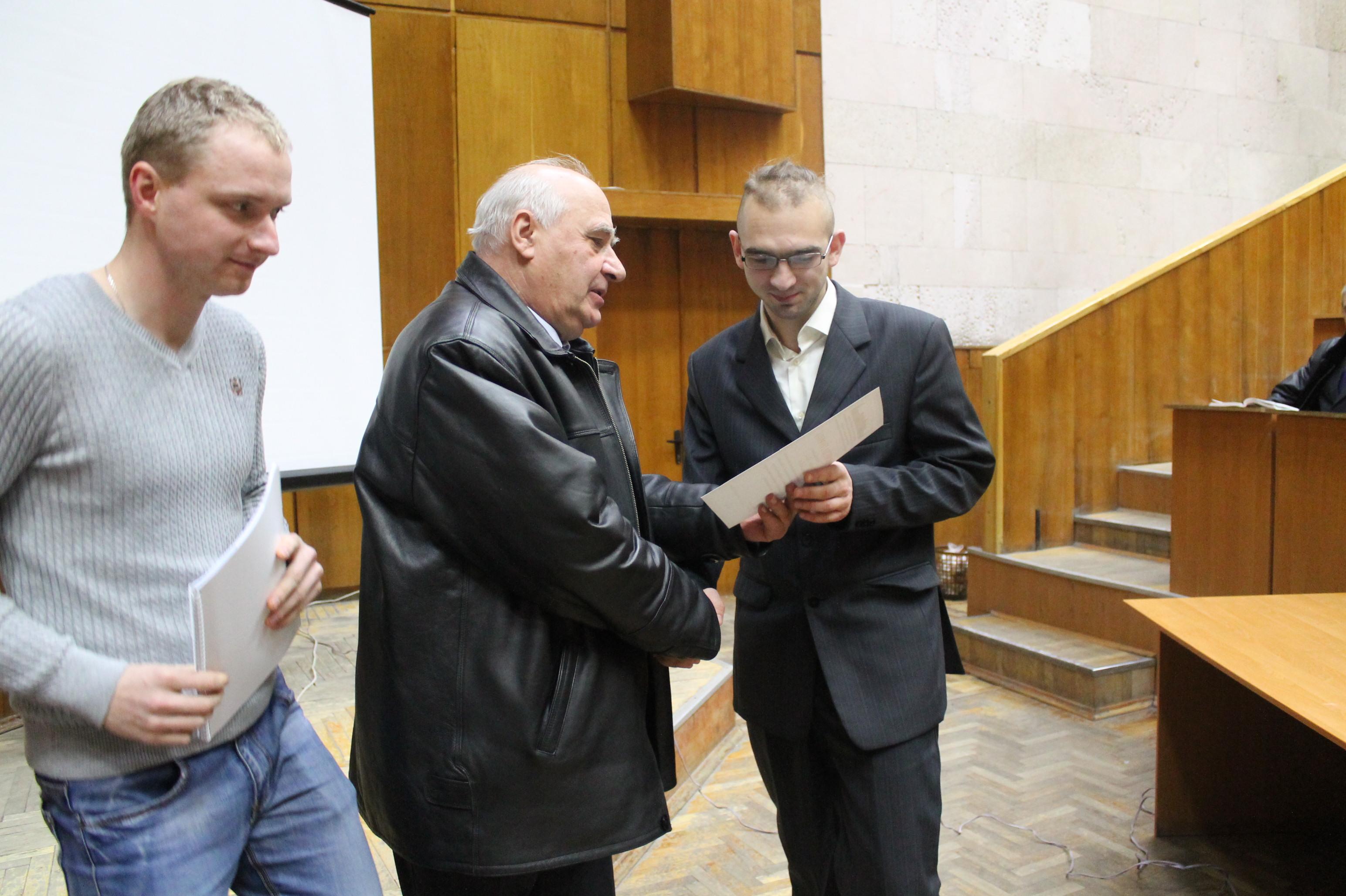 10та конференція СПЕА 2016 Пересада Приста Зайченко
