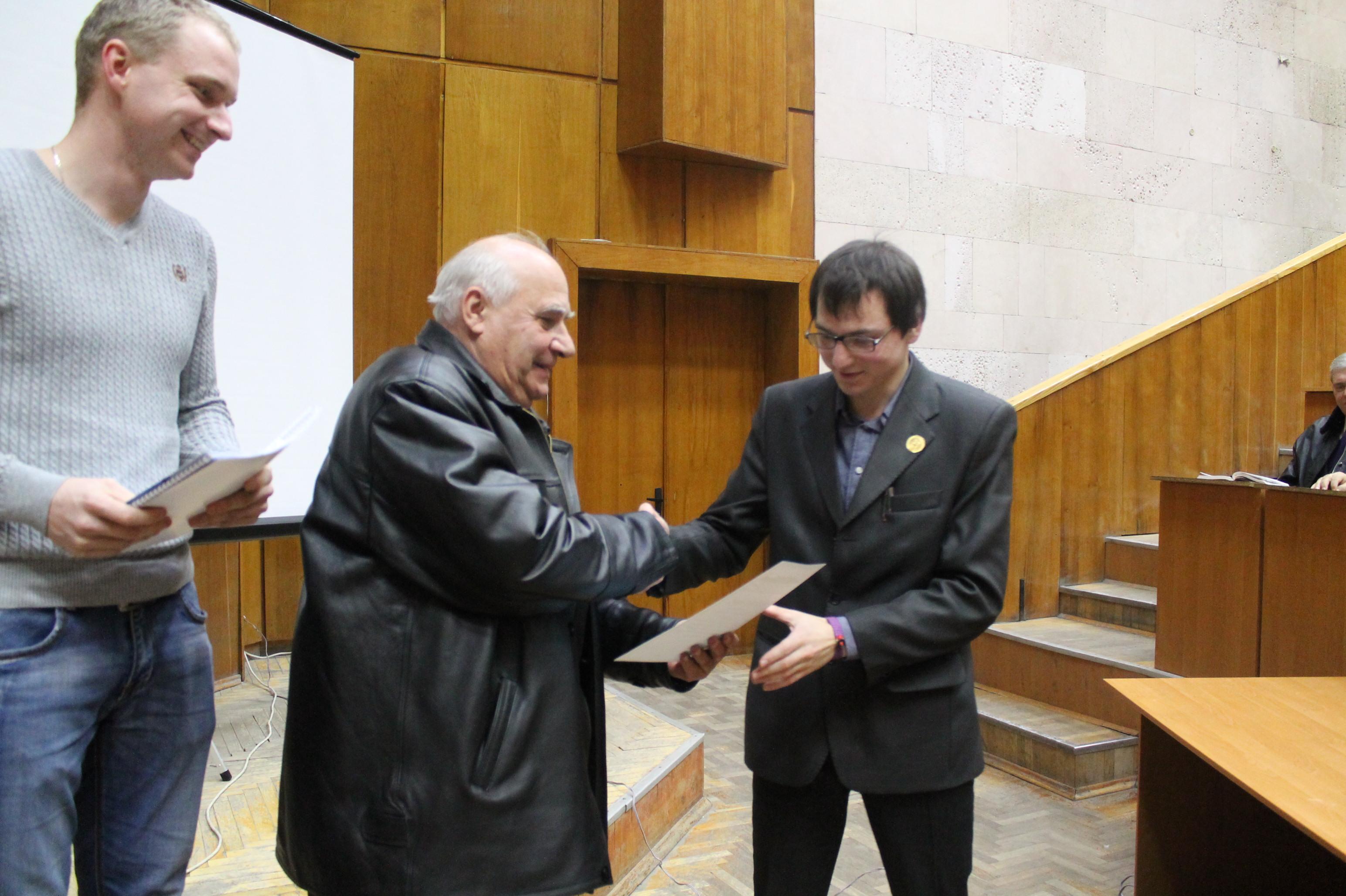 10та конференція СПЕА 2016 Решетник Пересада Приступа Дмитро