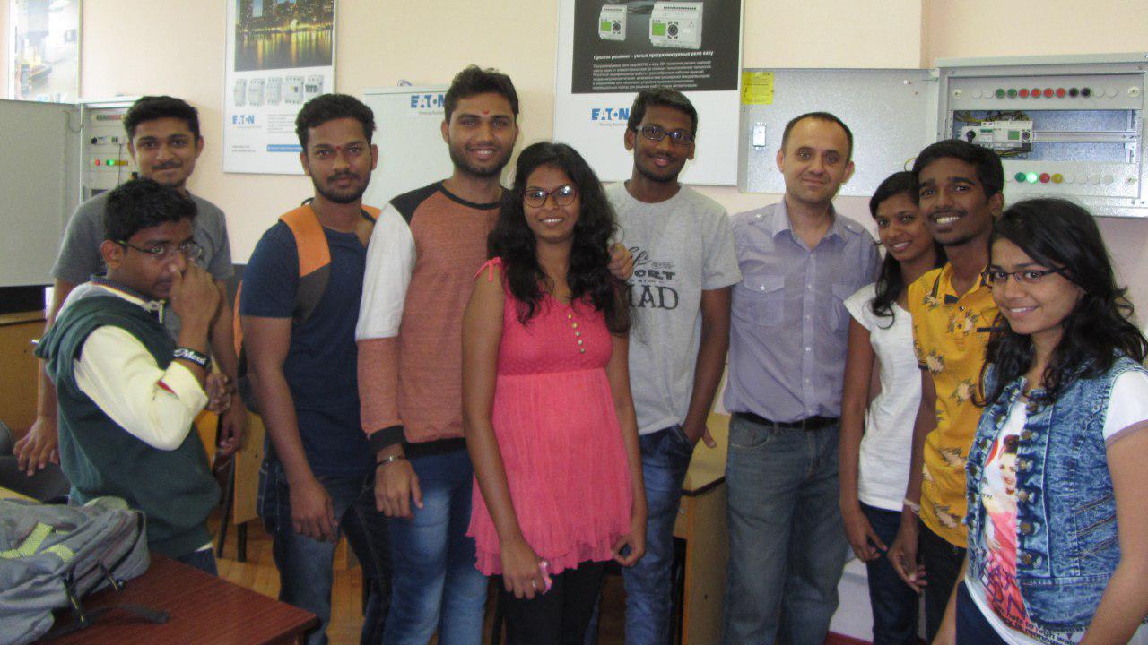 Практика студентів з Індії на кафедрі АЕМС-ЕП КПІ ім. І. Сікорського