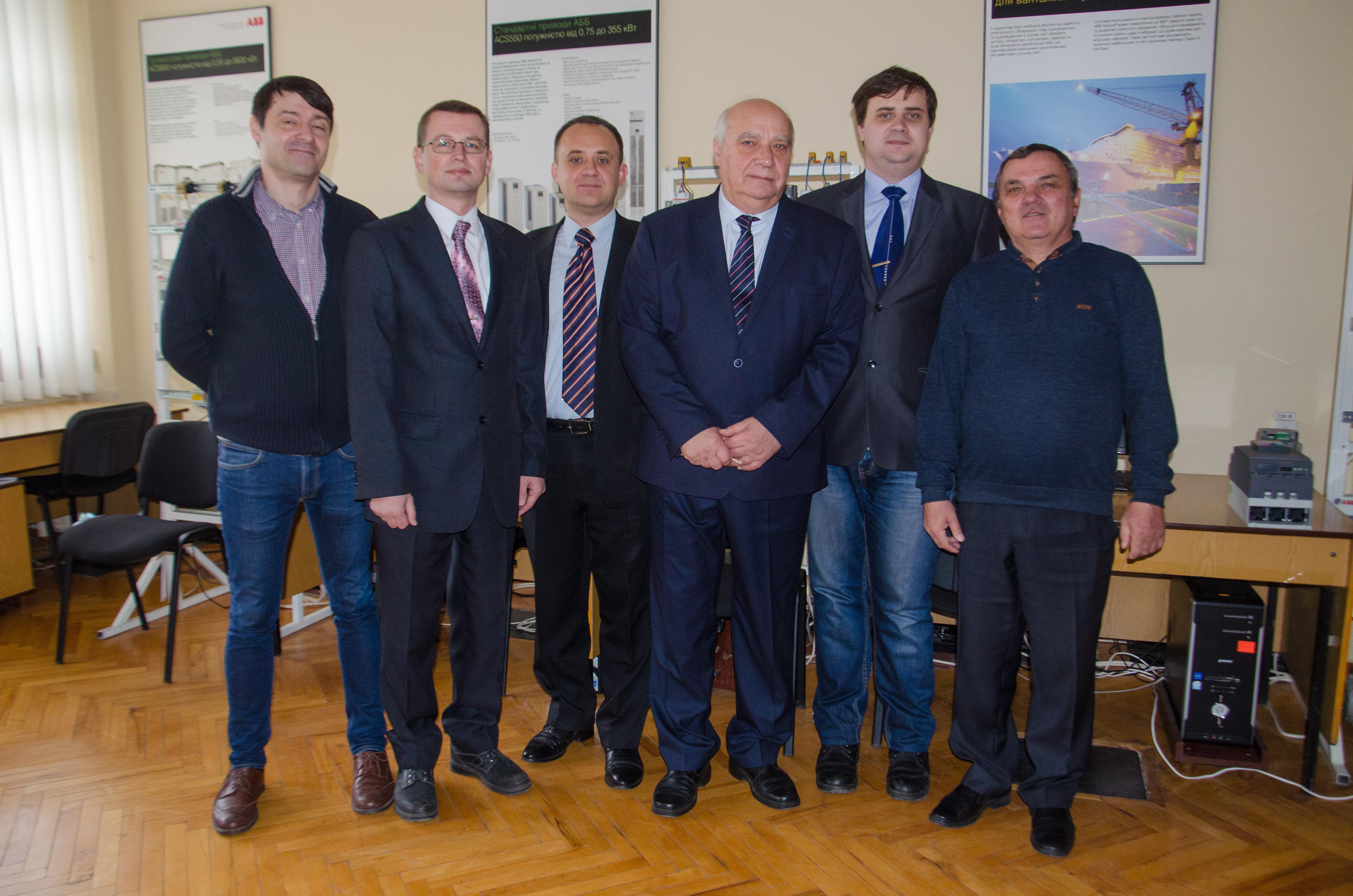 Візит представників компанії ABB. Кафедра АЕМС-ЕП КПІ Сікорського