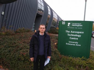 Конференція ESARS в Ноттінгемі з викладачами АЕМС-ЕП КПІ Сікорського