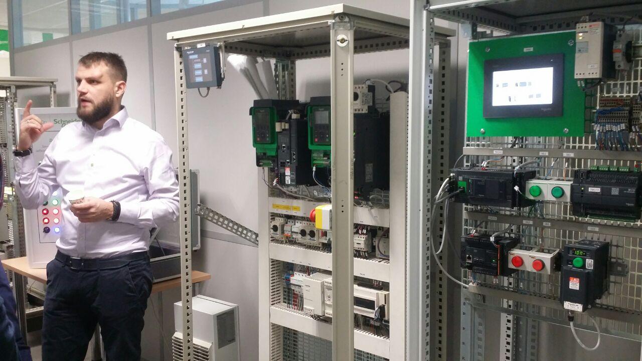 Відкриття навчального центру Schneider Electric. Кафедра АЕМС-ЕП
