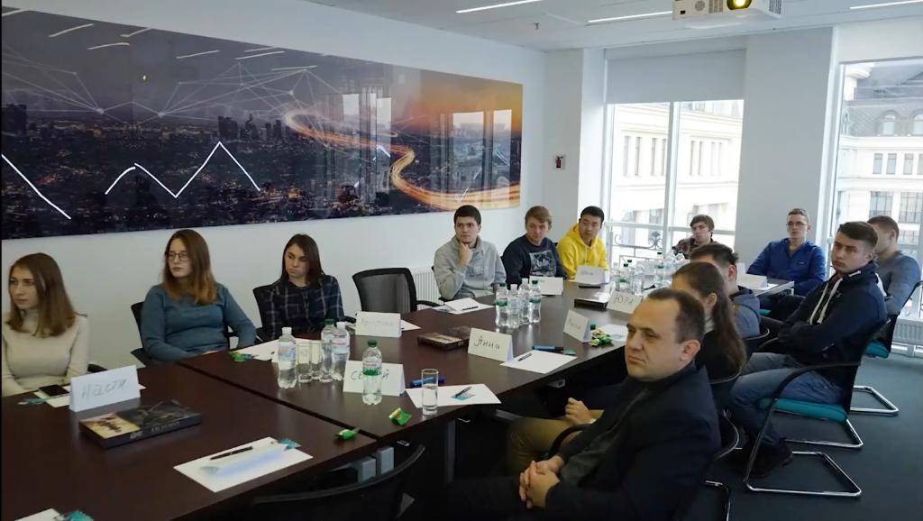 Тренінг студентів у Siemens Ukraine. Кафедра АЕМС-ЕП