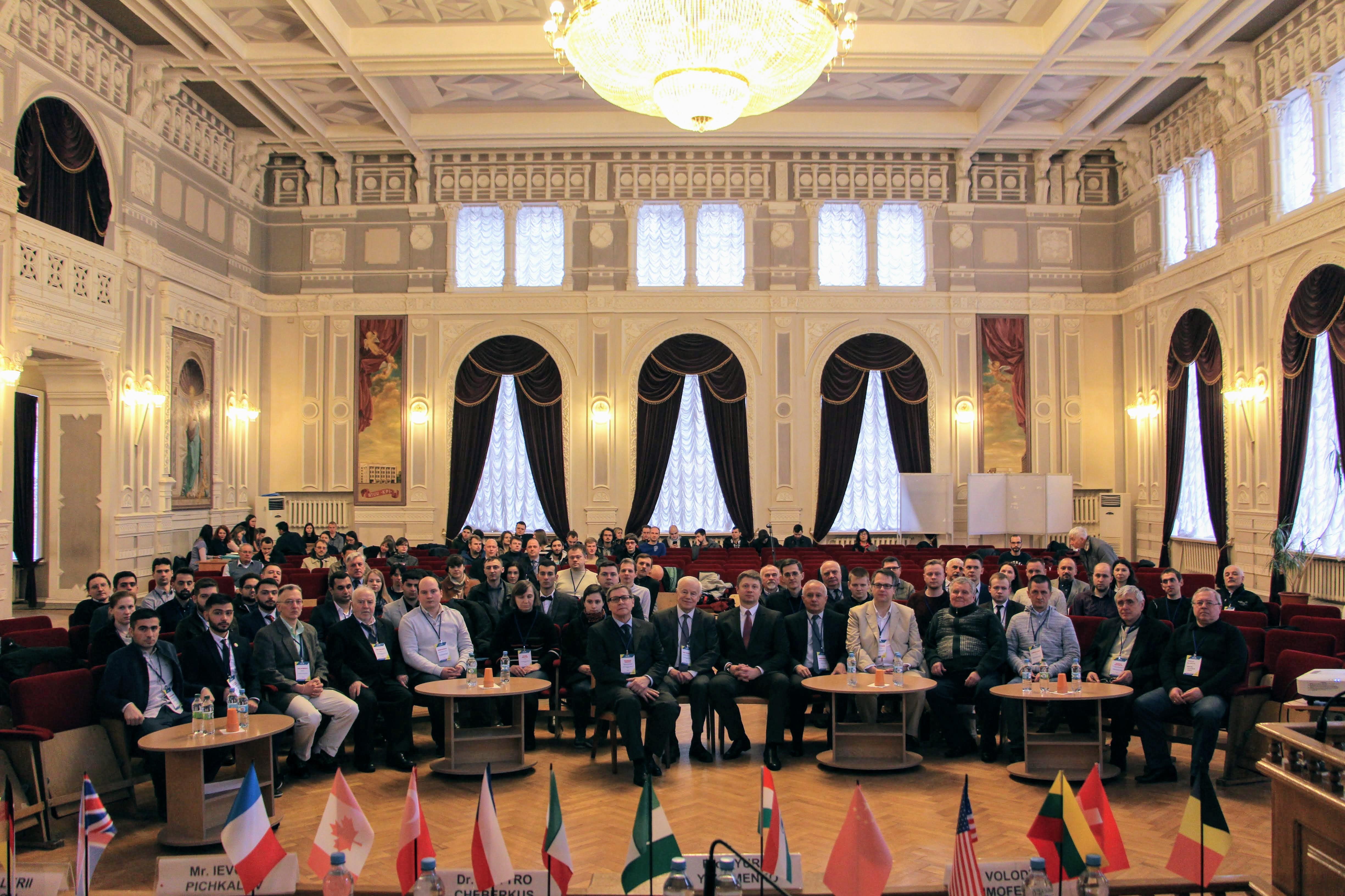 Конференції ELNANO та ESS'19 та кафедра АЕМС-ЕП КПІ
