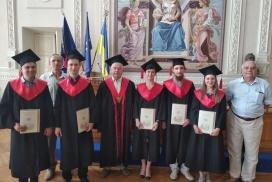 Вітаємо випускників наукових магістрів весни 2019 року! АЕМС-ЕП