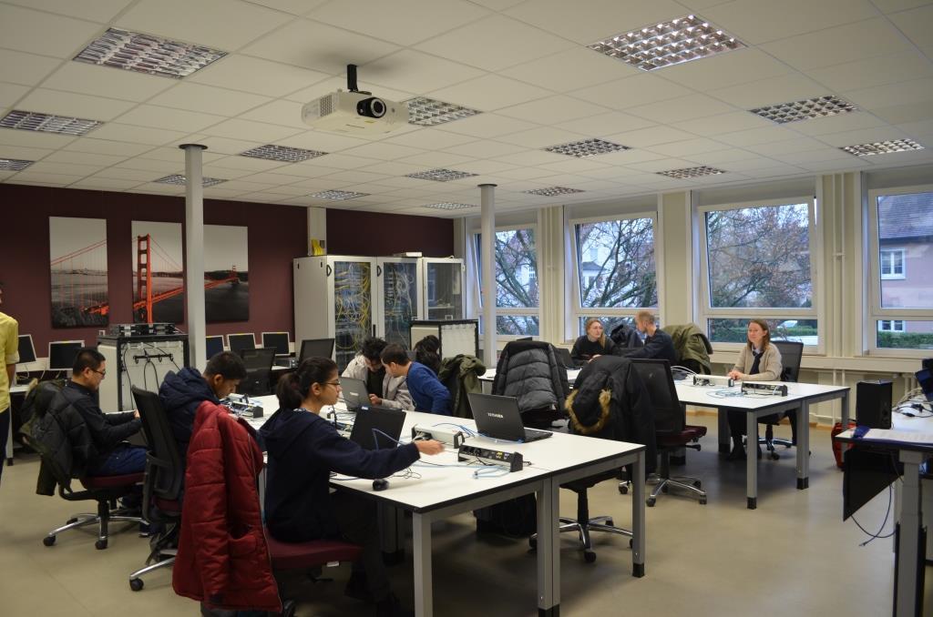 Навчання у THM 2019 р. Кафедра АЕМС-ЕП КПІ Сікорського
